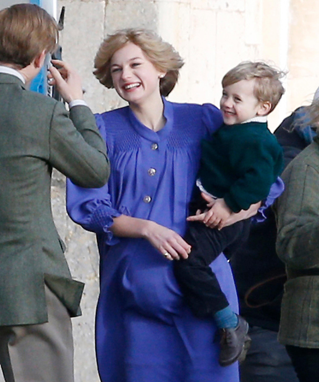The Crown Season 4 Gives First Look At Pregnant Princess Diana