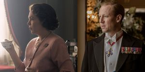 Olivia Colman-Tobias Menzies- The Crown