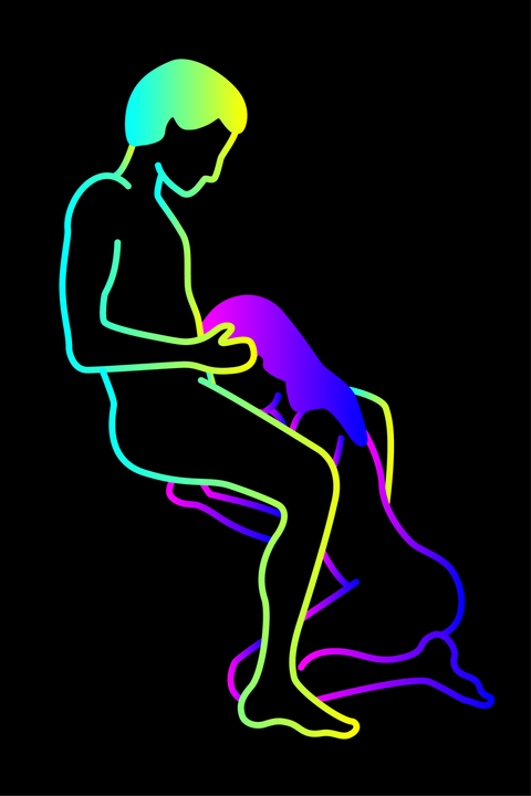 Joint, Neon, Organism, Graphic design, Silhouette, Illustration, Graphics,