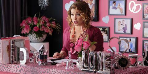 Pink, Room, Interior design, Material property, Magenta, Plant, Flower,