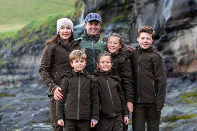 danish royal family visit the faroe islands in the north atlantic