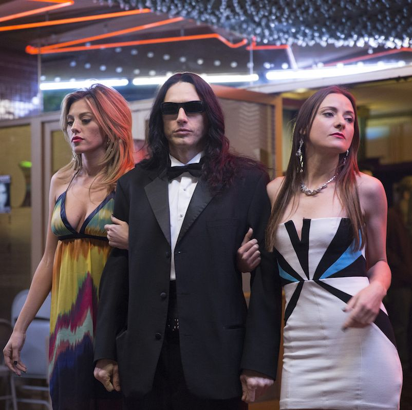 The Disaster Artist James Franco is Tommy Wiseau, the notoriously talentless creator of the cult film The Room , in this making-of-a-bad-movie comedy.