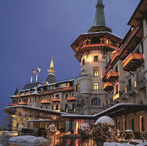 Landmark, Architecture, Building, Town, Sky, City, Winter, Night, Facade, Metropolis,