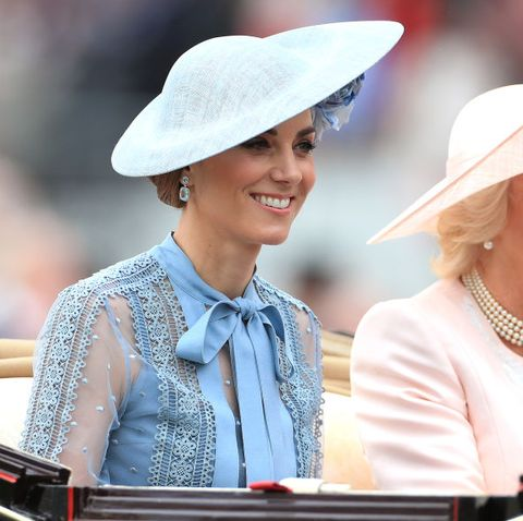 Kate Middleton Wears a Lovely Elie Saab Dress to the First Day of Royal Ascot