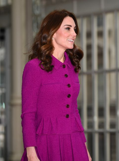 Kate Middleton Is Serving Looks in an Oscar de la Renta Suit at the Royal Opera House