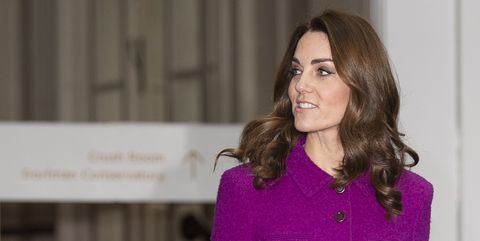 Duchess of Cambridge visit to the Royal Opera House