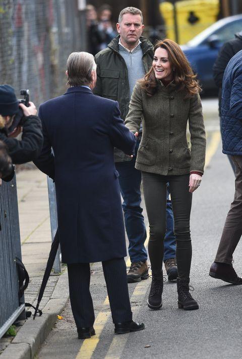 Duchess of Cambridge visits King Henrys Walk Garden