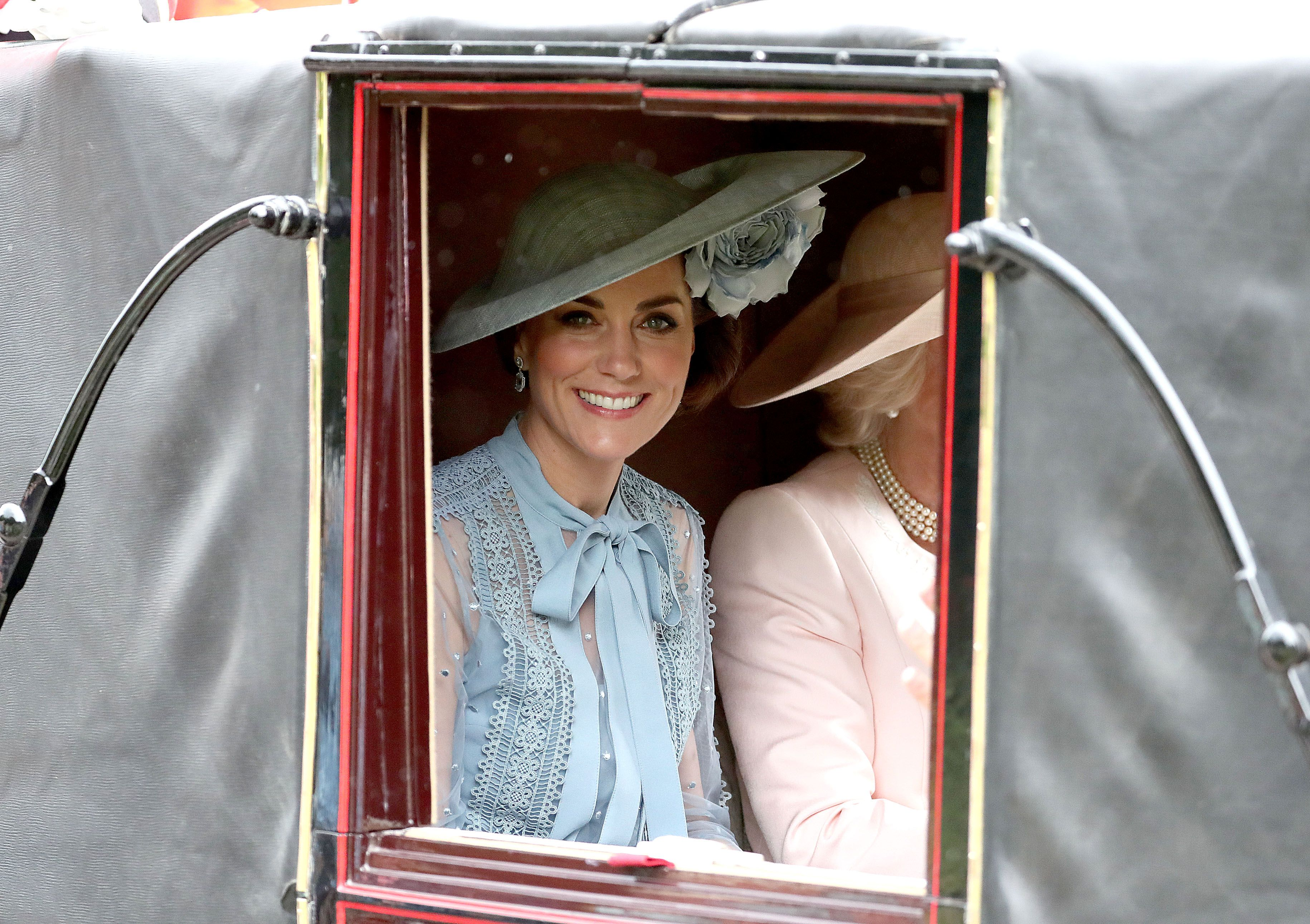 Kate Middleton Wore a Gorgeous Blue Elie Saab Dress at Day 1 of Royal Ascot