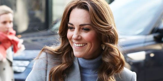 Kate Middleton Steps Out in Her Second Outfit of the Day: a Chic Coat and Turtleneck