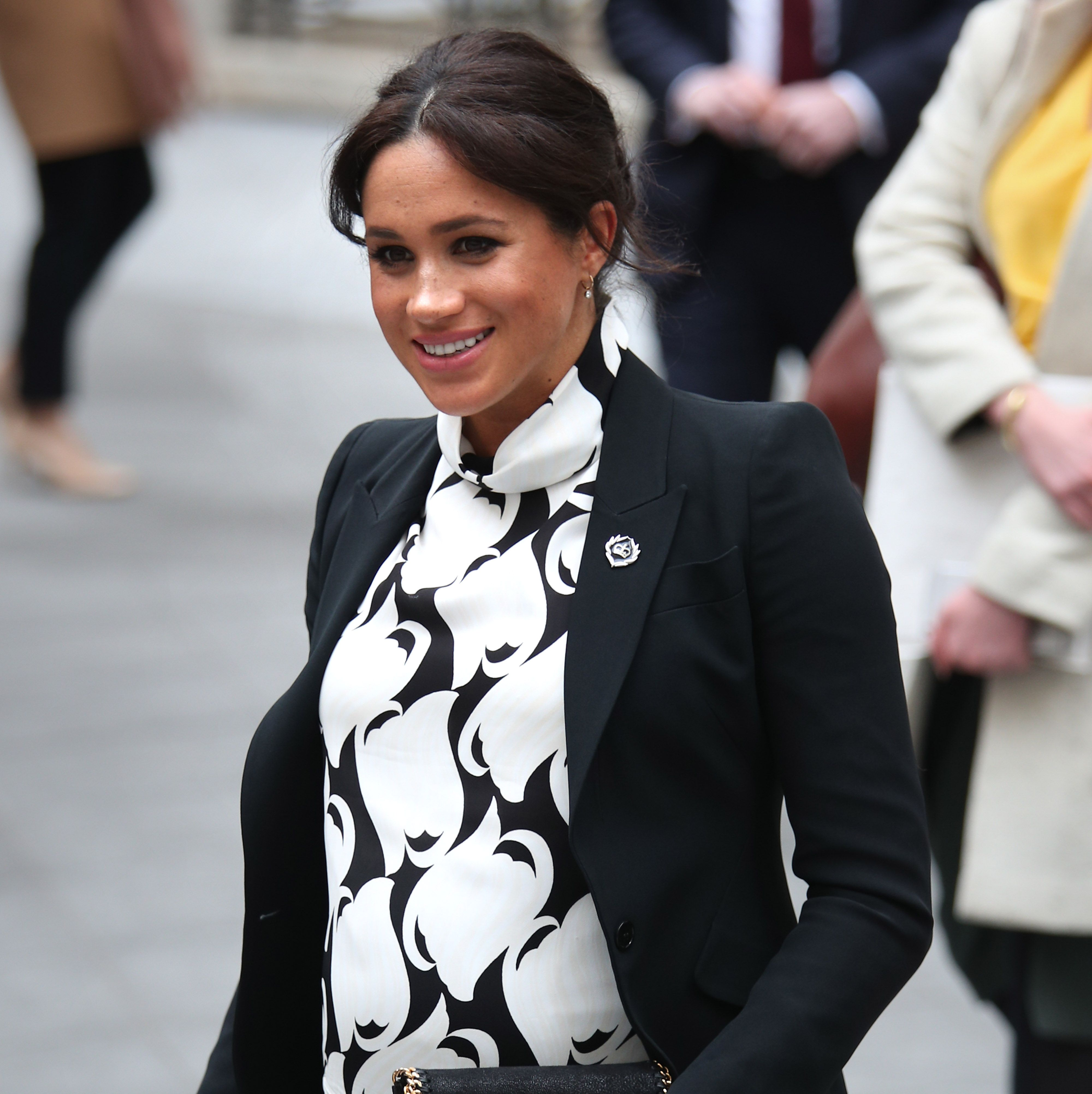 The Internet Really Can't Figure Out What Print Meghan Markle Wore Today