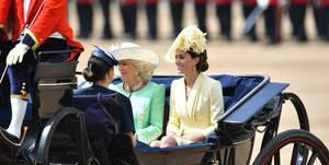 Kate Middleton, Meghan Markle, Camilla Parker-Bowles Trooping the Colour 2019