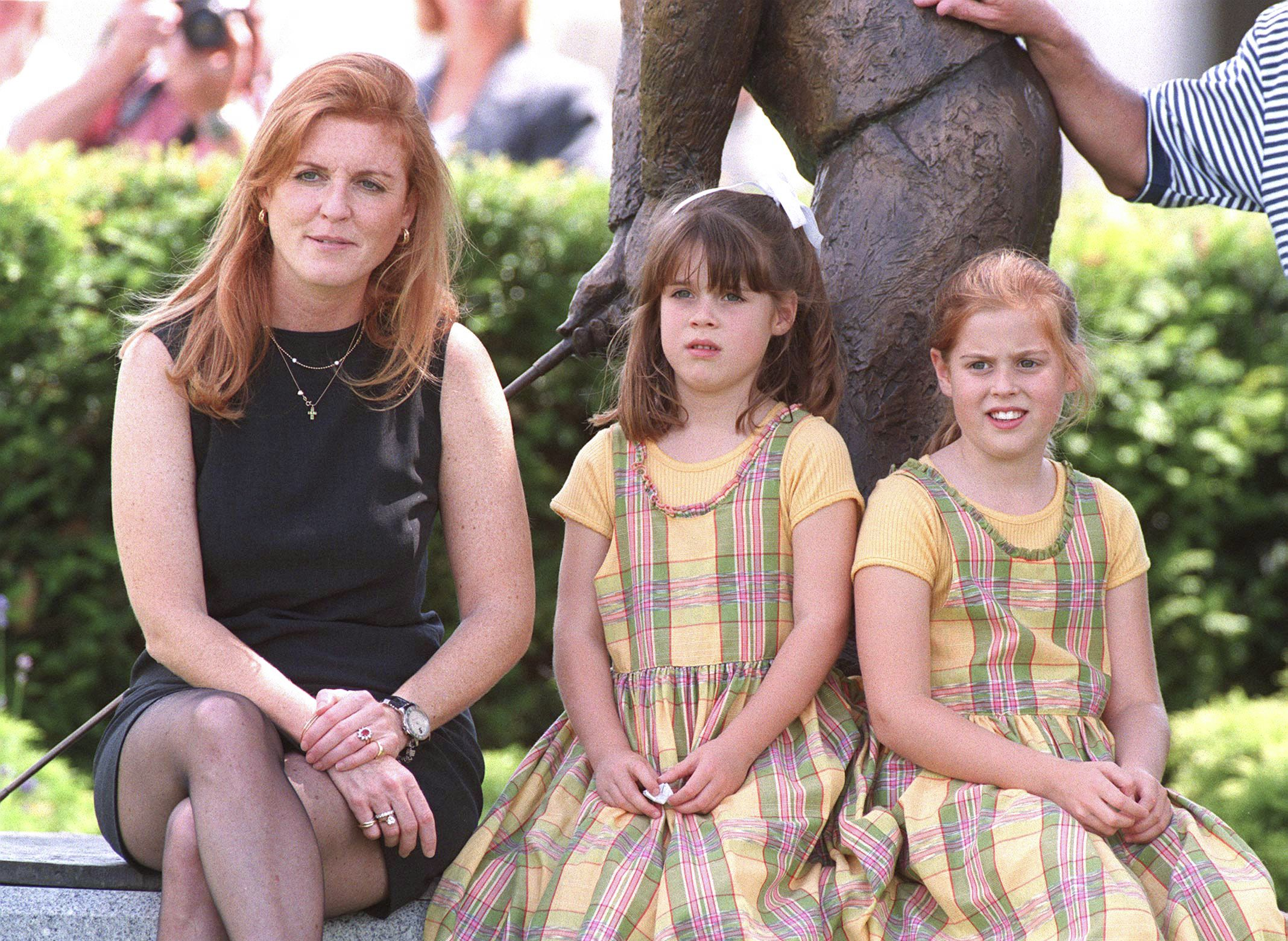 Princess Eugenie shares adorable throwback to celebrate her mum's birthday