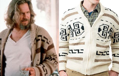 The dudes jacket from the big lebowski