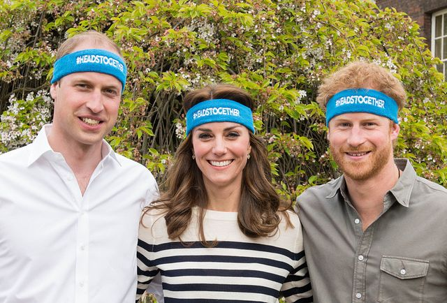 the duke and duchess of cambridge and prince harry spearhead a new campaign called heads together to end stigma around mental health