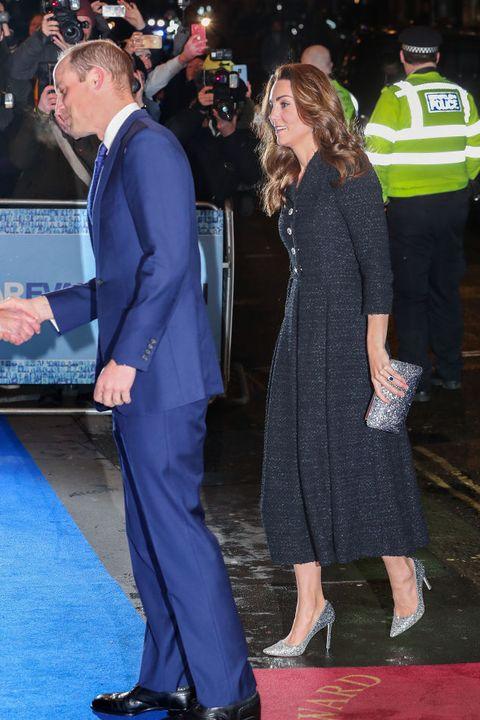 Le duc et la duchesse de Cambridge assistent à une représentation caritative de