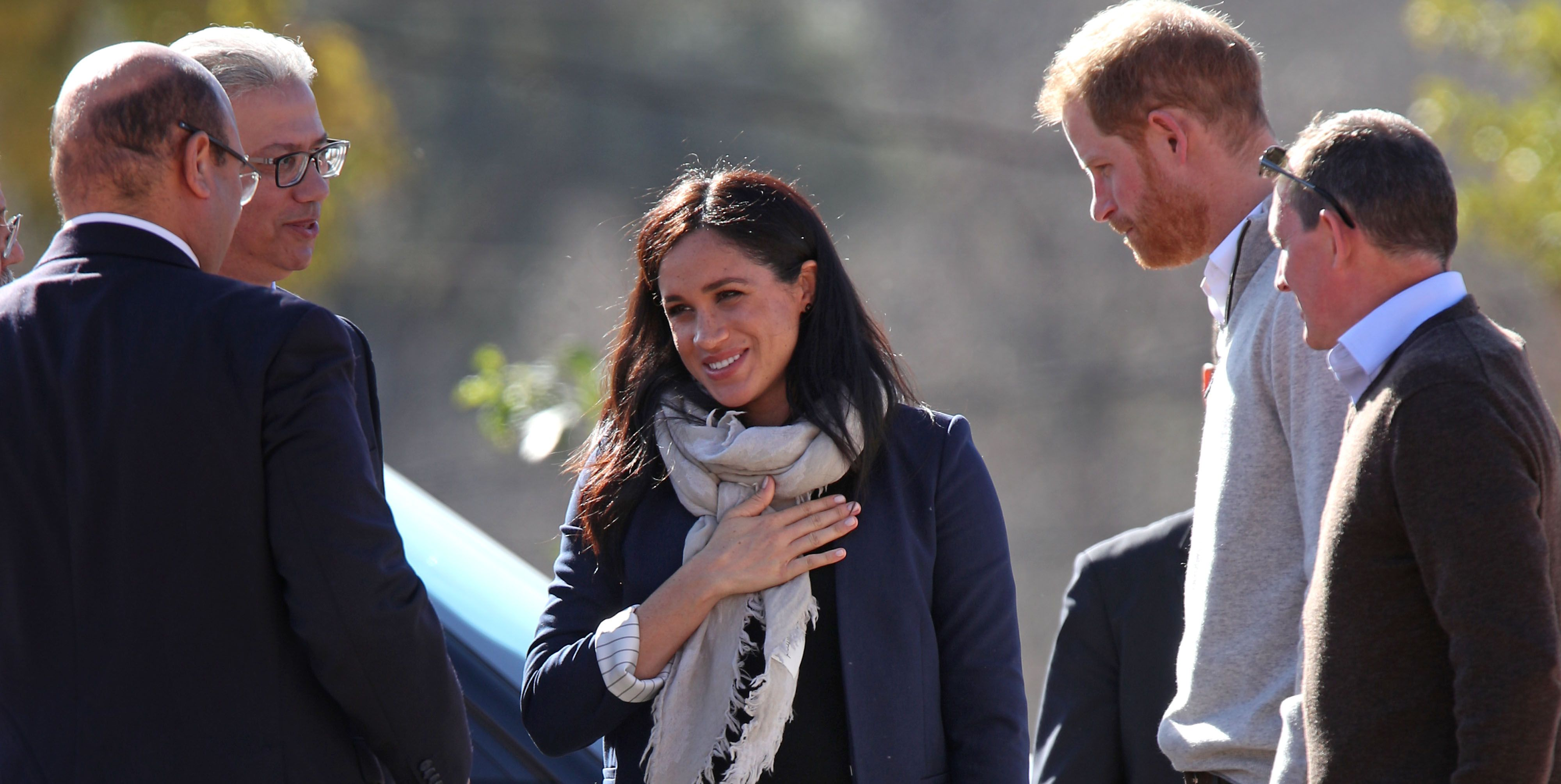Duke and Duchess of Sussex visit to Morocco - Day 2
