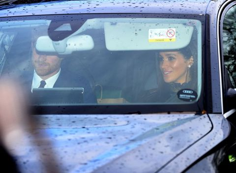 Meghan Markle and Prince Harry join the royal family for