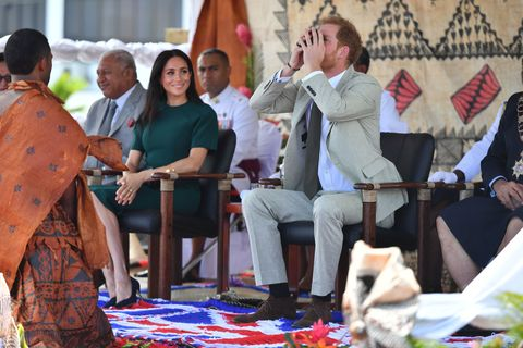Royal tour of Fiji - Day Three