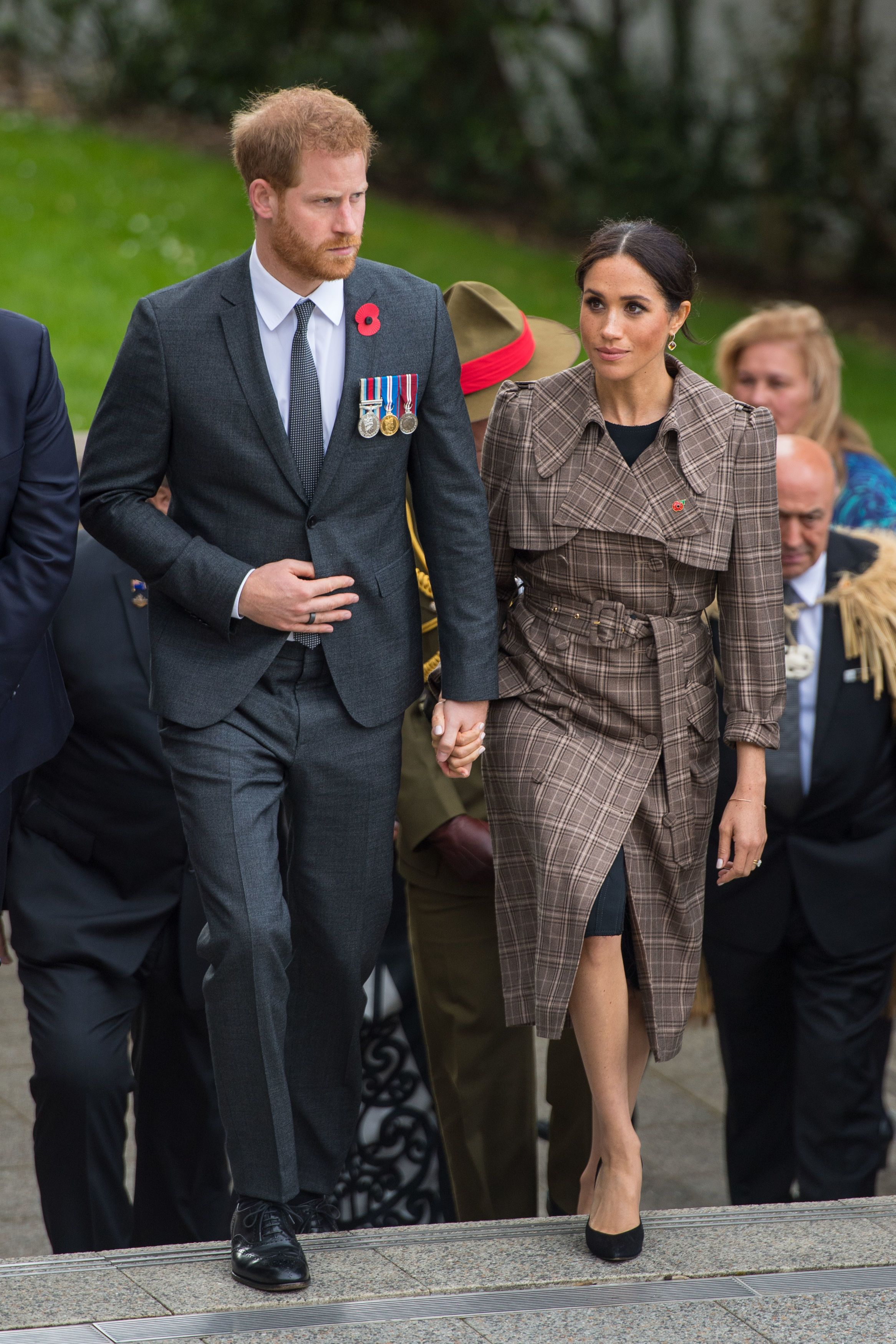 Royal tour of New Zealand - Day One