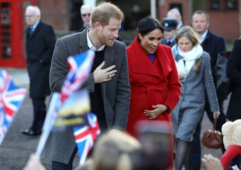 Royal visit to Birkenhead meghan and harry