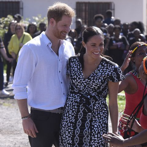 The Duke and Duchess of Sussex visit Nyanga Township in South Africa