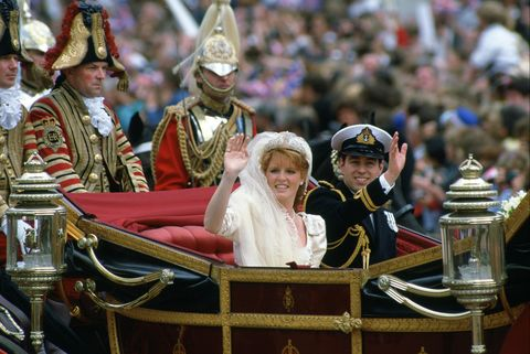 sarah ferguson and prince andrew wedding