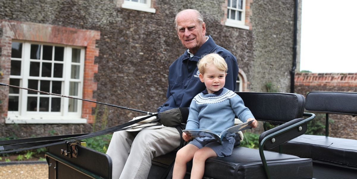 Prince William Shared a Sweet Photo of Prince Philip and Prince George in Honor of His Grandfather
