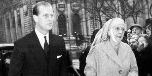 prince philip princess alice of battenberg The Duke Of Edinburgh And His Mother In 1960