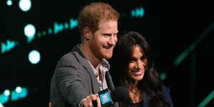 Prince Harry and Meghan Markle at WE Day UK