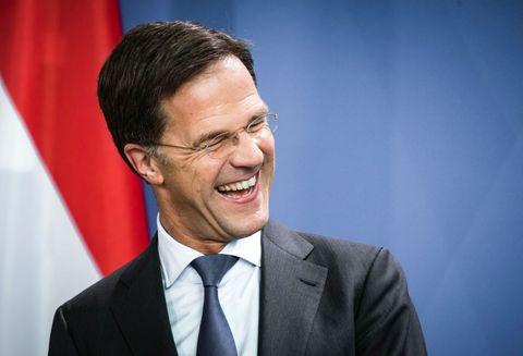dutch prime minister rutte meets chancellor merkel