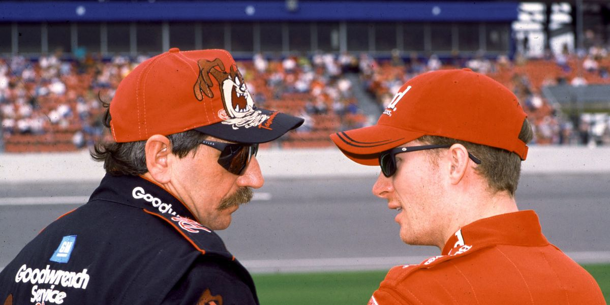 Dale and Dale Jr. shared the same view on the Confederate flag