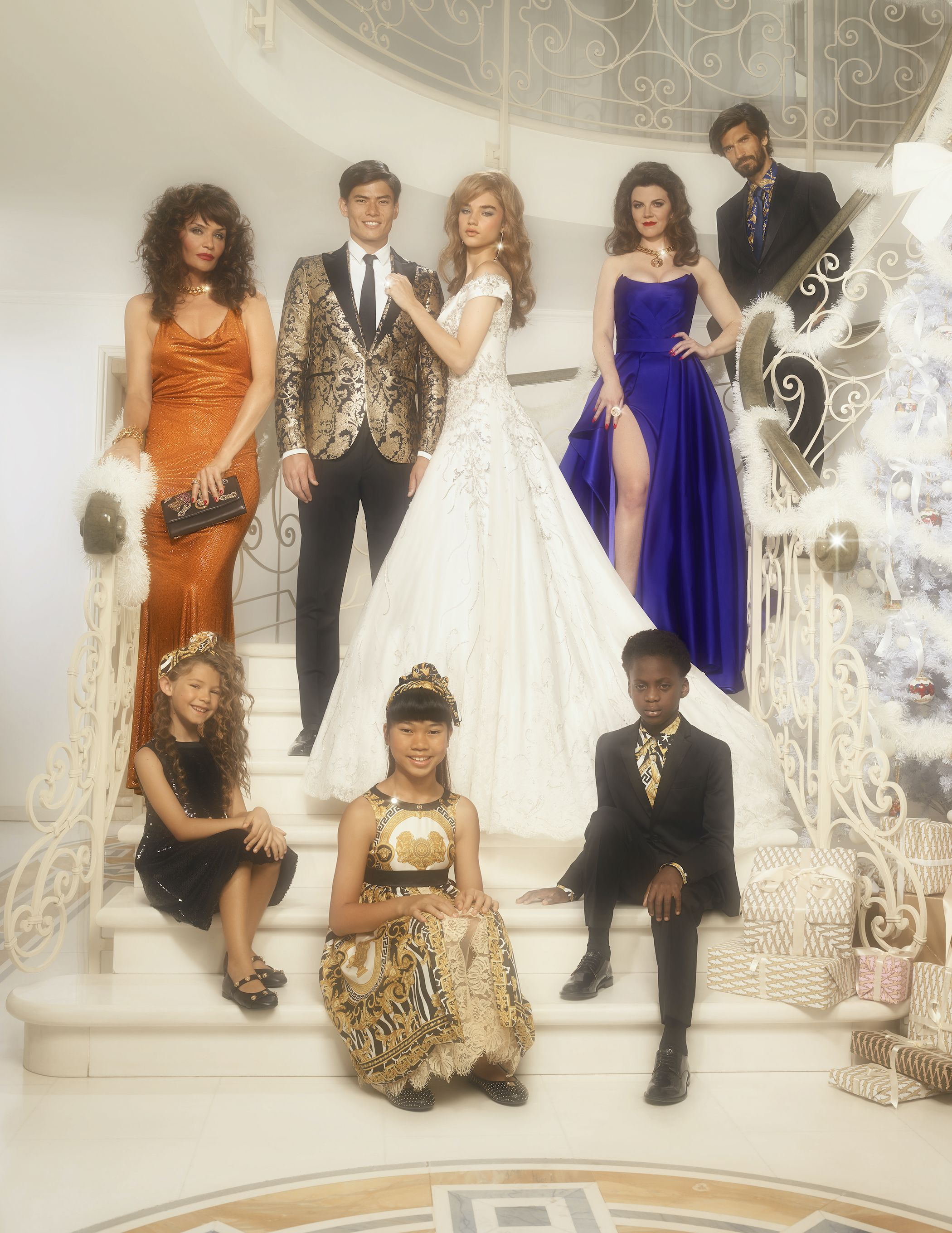 Versace Releases '80s-Inspired, Drama-Filled Holiday Campaign