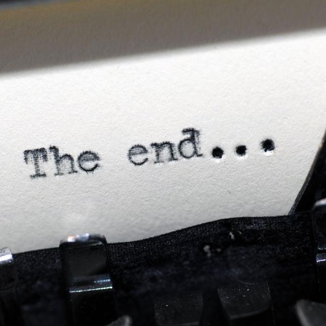 final de un libro