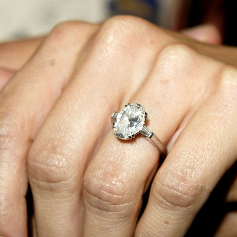 Jennifer Shefft's Engagement Ring