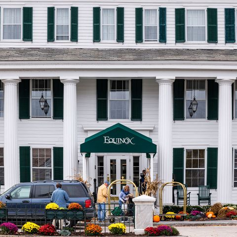 manchester, vermont, united states   20191009 the equinox hotel resort photo by john greimlightrocket via getty images