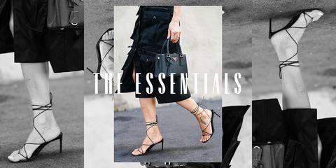 essentials strappy sandals