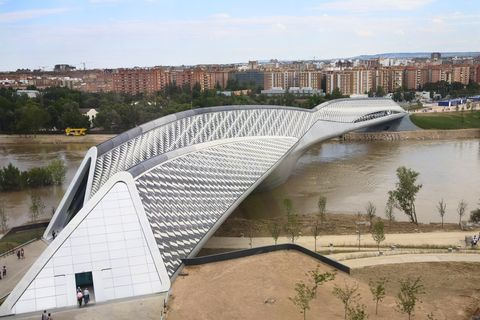 pabellon puente  pavillion bruecke  pavilion bridge
