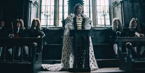 Olivia Colman as Queen Anne inThe Favourite