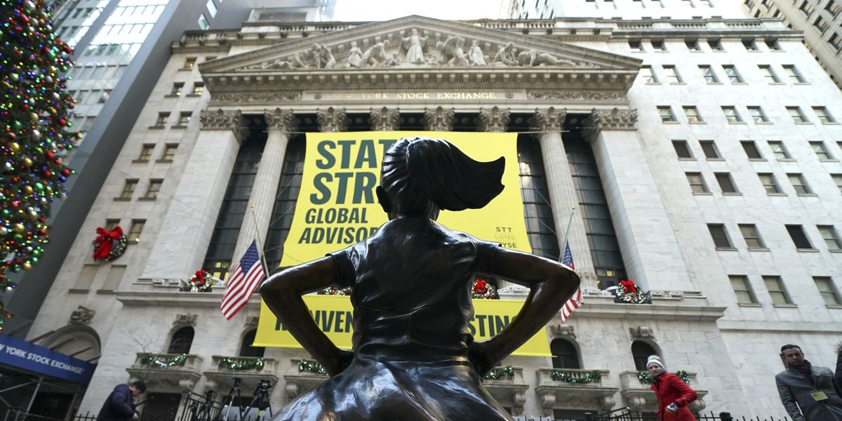 Fearless Girl Statue Moves Outside New York Stock