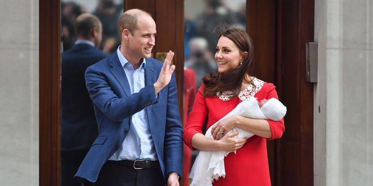 The First Pictures Of The New Royal Baby Are Here
