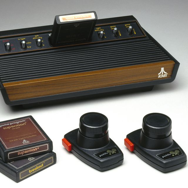atari computer console game system video games