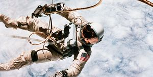 First Spacewalk by US Astronaut