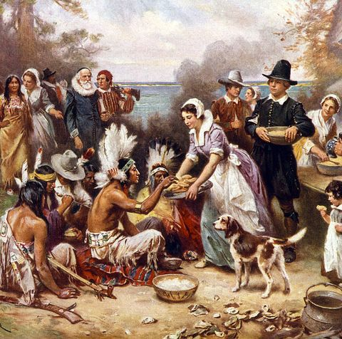 the first thanksgiving - thanksgiving trivia