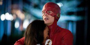The Flash Season 5 finale, Candice Patton,  Iris West, Allen & Grant Gustin,