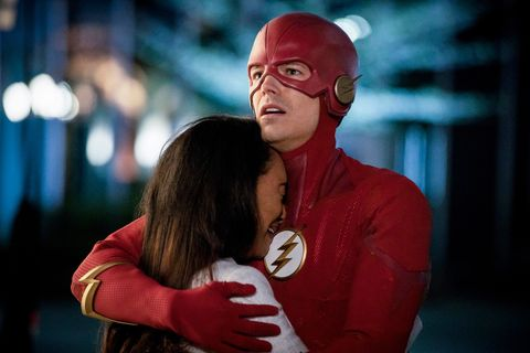 The Flash Season 5 finale, Candice Patton,  Iris West, Allen & Grant Gustin,