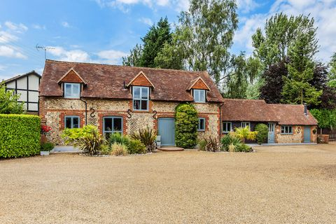 19th century barn conversion with 5-acre paddock for sale in Surrey