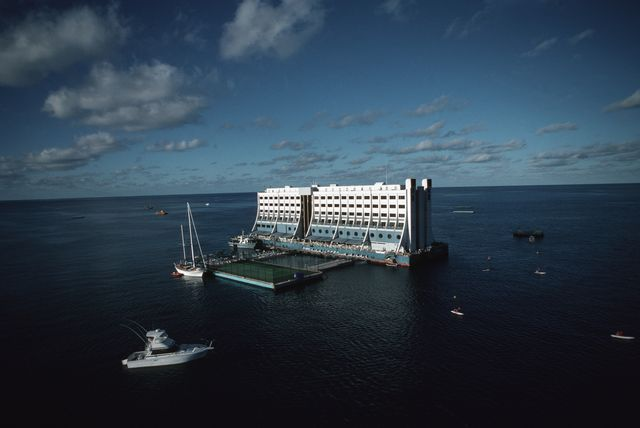 the four seasons great barrier reef hotel which is the world
