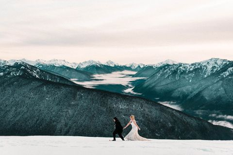 Photograph, Mountainous landforms, Sky, Mountain, Mountain range, Glacial landform, Snow, Tree, Arctic, Glacier,