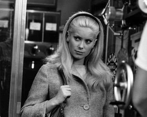 Catherine Deneuve On The Set