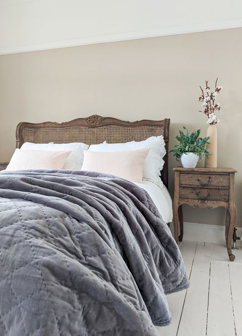the french bedroom company, rustic bedside table